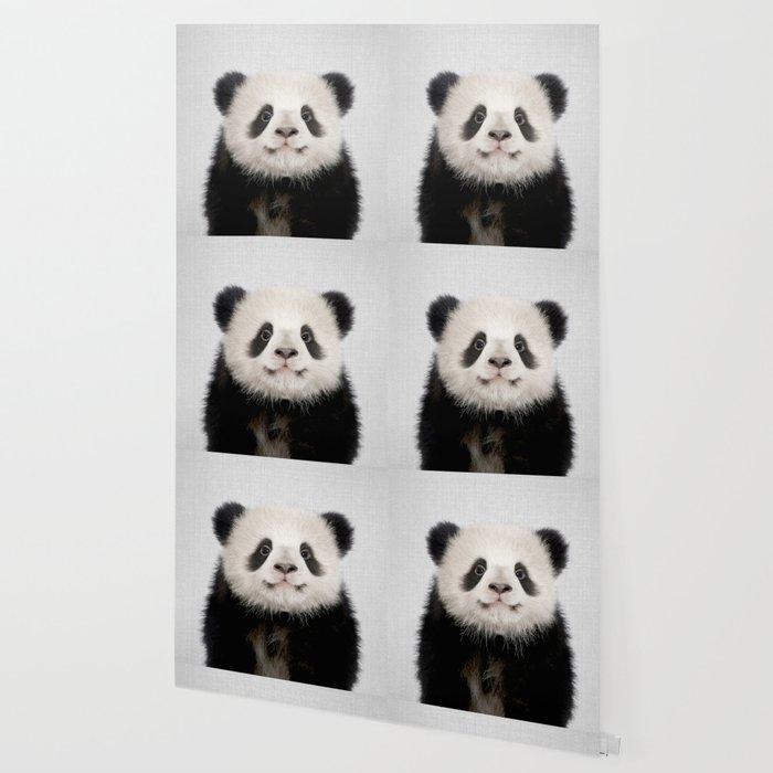 Panda Bear - Colorful Wallpaper