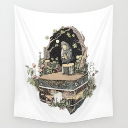 the priest Wall Tapestry