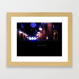 Pews II Framed Art Print