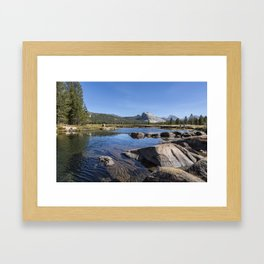 Tuolumne River and Meadows, No. 1 Framed Art Print