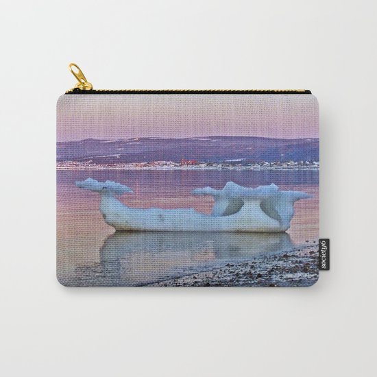 Viking Ice Ship Portrait Carry-All Pouch