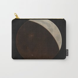 The Trouvelot Astronomical Drawings (1881) - Partial Eclipse of the Moon, 1874 Carry-All Pouch