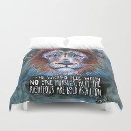 Bold as a Lion Duvet Cover