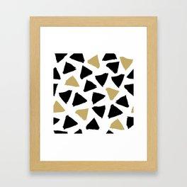 Geometric Pattern 8 Framed Art Print