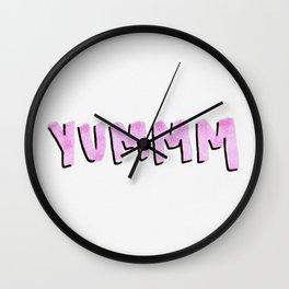 YUMMM Wall Clock
