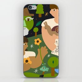 Garden Friends iPhone Skin