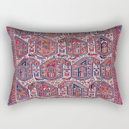 Khamseh Fars Southwest Persian Rug Print Rectangular Pillow