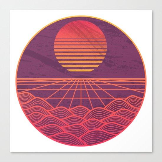 Turbo Drive Canvas Print