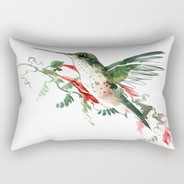 Hummigbird Rectangular Pillow