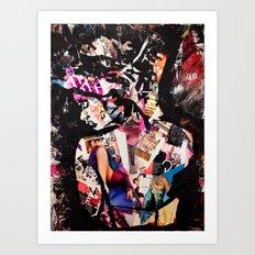 F*cked Art Print