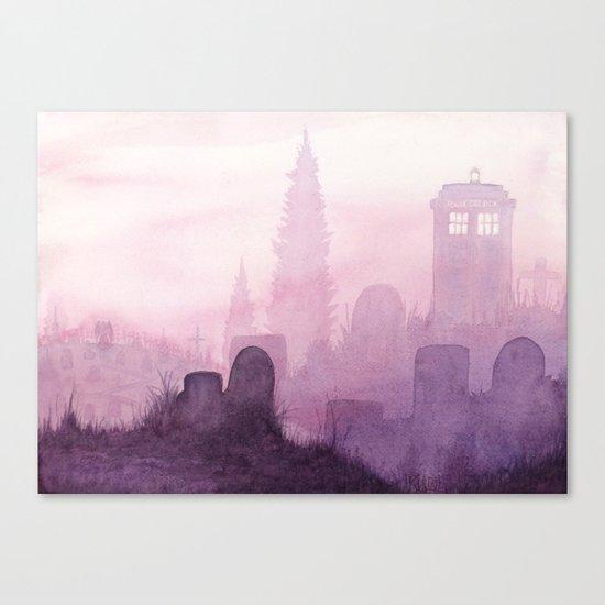 The Sun Will Rise Again Canvas Print
