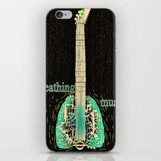 Breathing music iPhone & iPod Skin