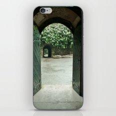 Open Double Door iPhone & iPod Skin