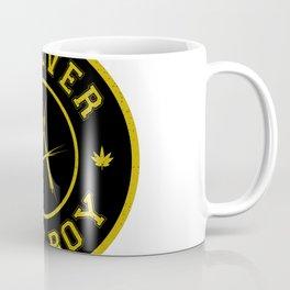 Lost Boy Badge Coffee Mug