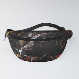 black labrador retriever dog wsstd Fanny Pack