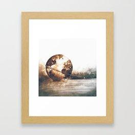 Burden Carrier Framed Art Print