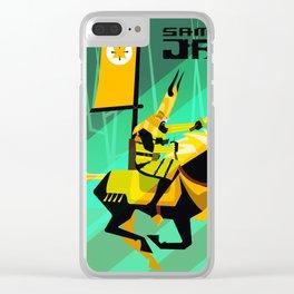 Last Ride of Samurai Jack (Gold) Clear iPhone Case