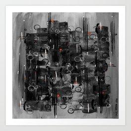 :: Night Sounds :: Art Print