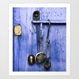 KITCHEN EQUIPMENT Art Print
