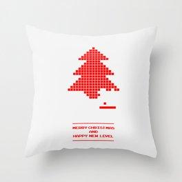 Happy New Level: 2015 Throw Pillow