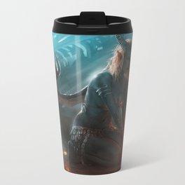 Succubus Metal Travel Mug
