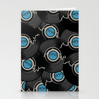 record Stationery Cards featuring Broken Record by 2EQUALS