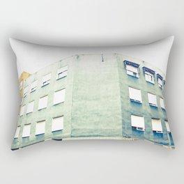 The Grey Corner Rectangular Pillow