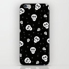 Skull and Stars Pattern iPhone Skin