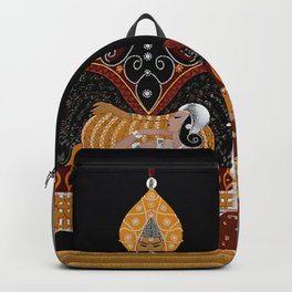 "Art Deco Exotic Design ""In the Casbah"" Backpack"