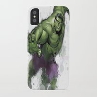 hulk iPhone & iPod Cases featuring Hulk  by Isaak_Rodriguez