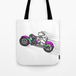 Le Mouton à Moto Tote Bag
