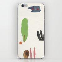 bottom of the jungle iPhone & iPod Skin