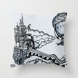 Cloudheim Throw Pillow