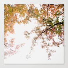 Autumn Origami Canvas Print