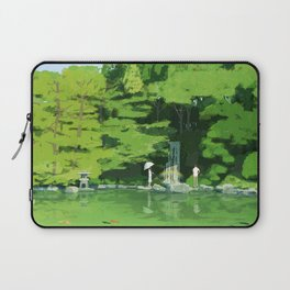 Green pond Laptop Sleeve