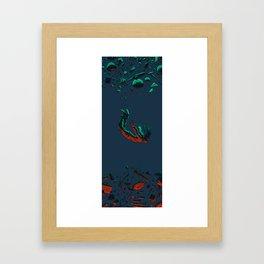 Grow Up & Down Framed Art Print