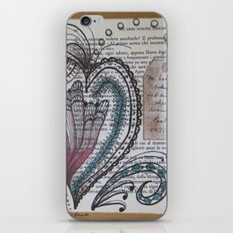 """He Heals the Broken Hearted"" iPhone Skin"