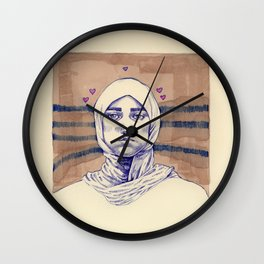 Untitled (Five Hearts) Wall Clock