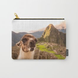 Llama #selfie Carry-All Pouch