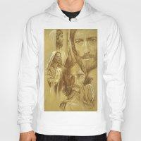 jesus Hoodies featuring Jesus by Bryan Dechter