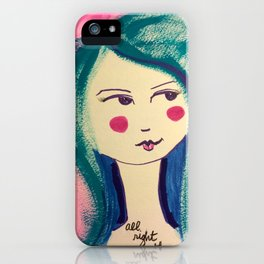 All Right Then iPhone Case