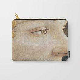 Botticelli 1480  Portrait of Simonetta Vespucci - detail Carry-All Pouch
