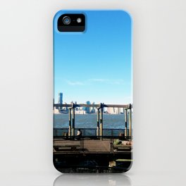 Piers | Hudson River | NYC iPhone Case