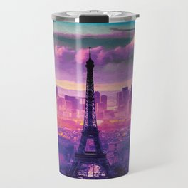 Beautiful Paris Travel Mug