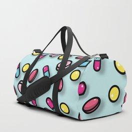 colorful cute pills Duffle Bag