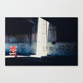 I feel better being closed Canvas Print