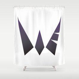 Warrior the Fvck Up Shower Curtain