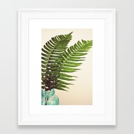 Ferns II Framed Art Print