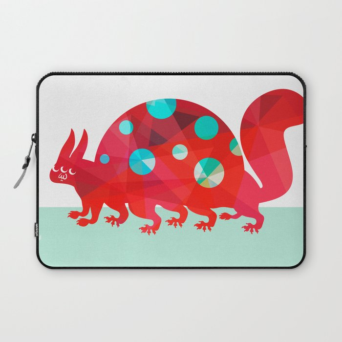 Oddities 2 - Tortoisquirrel Laptop Sleeve