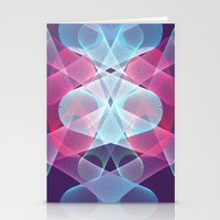 psychedelic art Stationery Cards featuring Psychedelic by Scar Design